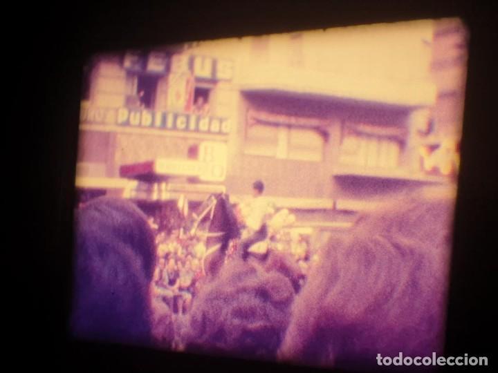 Cine: ANTIGUA BOBINA-DE PELÍCULA-FILMACIONES AMATEUR-FOGUERES-SANT JOAN (1973) SUPER 8 MM, RETRO FILM - Foto 117 - 212835668