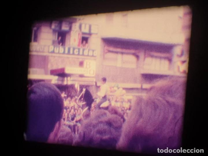 Cine: ANTIGUA BOBINA-DE PELÍCULA-FILMACIONES AMATEUR-FOGUERES-SANT JOAN (1973) SUPER 8 MM, RETRO FILM - Foto 118 - 212835668