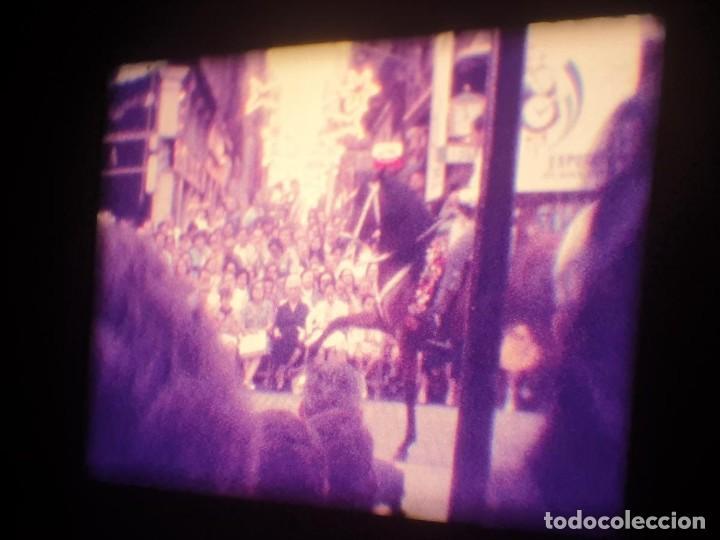 Cine: ANTIGUA BOBINA-DE PELÍCULA-FILMACIONES AMATEUR-FOGUERES-SANT JOAN (1973) SUPER 8 MM, RETRO FILM - Foto 119 - 212835668