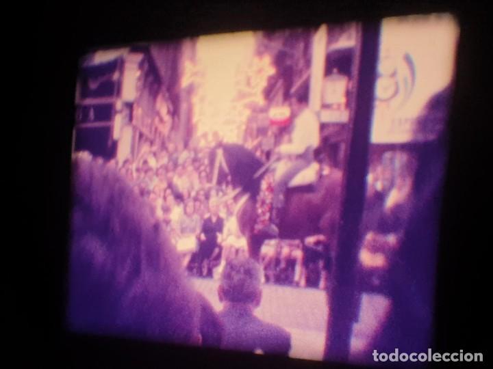 Cine: ANTIGUA BOBINA-DE PELÍCULA-FILMACIONES AMATEUR-FOGUERES-SANT JOAN (1973) SUPER 8 MM, RETRO FILM - Foto 120 - 212835668