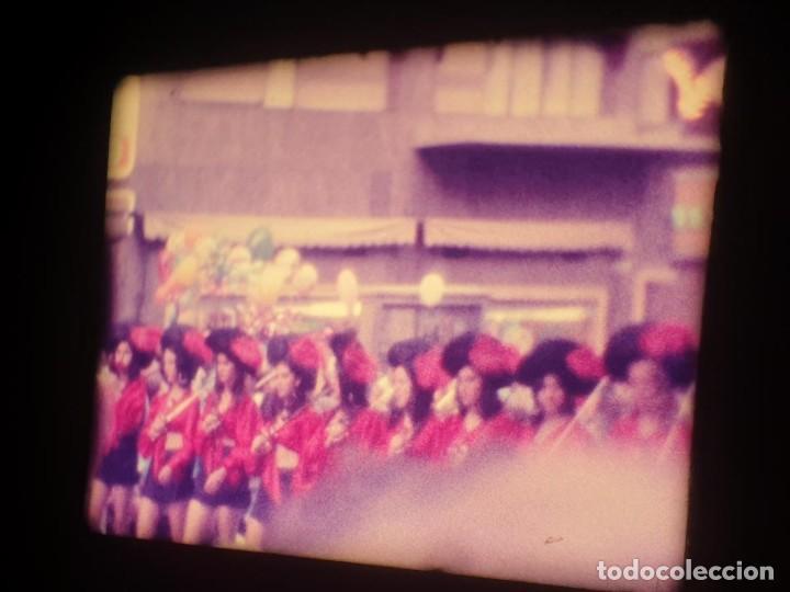 Cine: ANTIGUA BOBINA-DE PELÍCULA-FILMACIONES AMATEUR-FOGUERES-SANT JOAN (1973) SUPER 8 MM, RETRO FILM - Foto 122 - 212835668