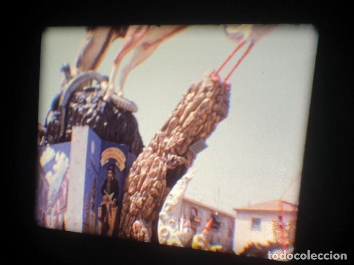 Cine: ANTIGUA BOBINA-DE PELÍCULA-FILMACIONES AMATEUR-FOGUERES-SANT JOAN (1973) SUPER 8 MM, RETRO FILM - Foto 130 - 212835668
