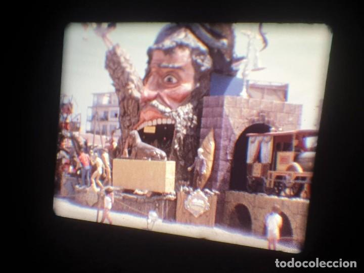 Cine: ANTIGUA BOBINA-DE PELÍCULA-FILMACIONES AMATEUR-FOGUERES-SANT JOAN (1973) SUPER 8 MM, RETRO FILM - Foto 140 - 212835668