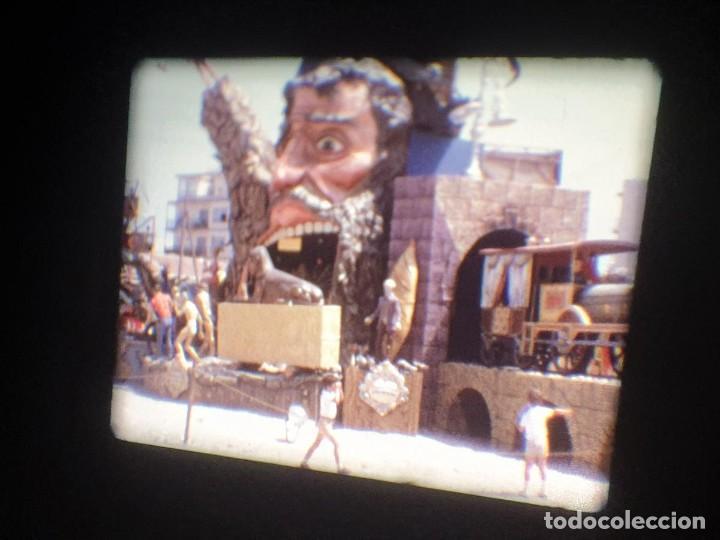 Cine: ANTIGUA BOBINA-DE PELÍCULA-FILMACIONES AMATEUR-FOGUERES-SANT JOAN (1973) SUPER 8 MM, RETRO FILM - Foto 141 - 212835668