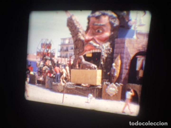 Cine: ANTIGUA BOBINA-DE PELÍCULA-FILMACIONES AMATEUR-FOGUERES-SANT JOAN (1973) SUPER 8 MM, RETRO FILM - Foto 142 - 212835668
