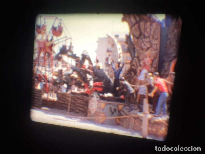 Cine: ANTIGUA BOBINA-DE PELÍCULA-FILMACIONES AMATEUR-FOGUERES-SANT JOAN (1973) SUPER 8 MM, RETRO FILM - Foto 143 - 212835668