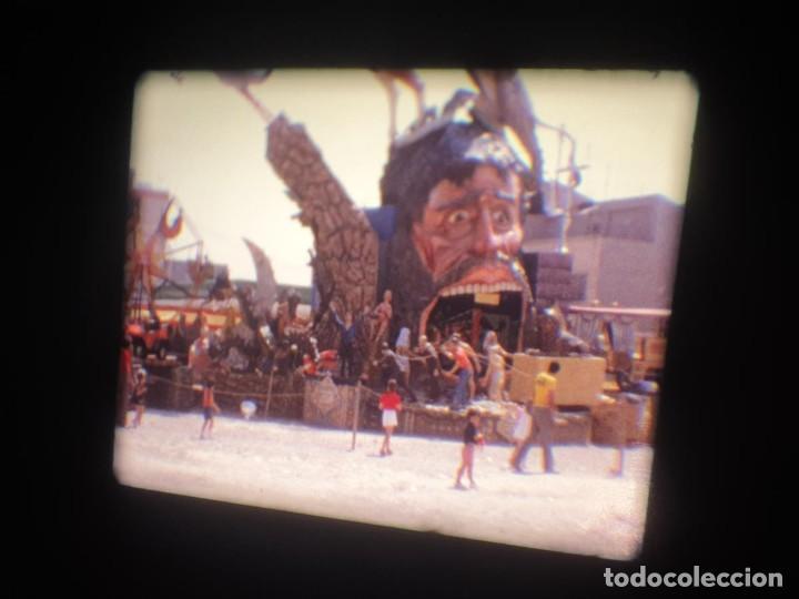 Cine: ANTIGUA BOBINA-DE PELÍCULA-FILMACIONES AMATEUR-FOGUERES-SANT JOAN (1973) SUPER 8 MM, RETRO FILM - Foto 144 - 212835668