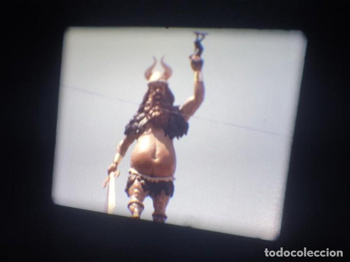 Cine: ANTIGUA BOBINA-DE PELÍCULA-FILMACIONES AMATEUR-FOGUERES-SANT JOAN (1973) SUPER 8 MM, RETRO FILM - Foto 145 - 212835668