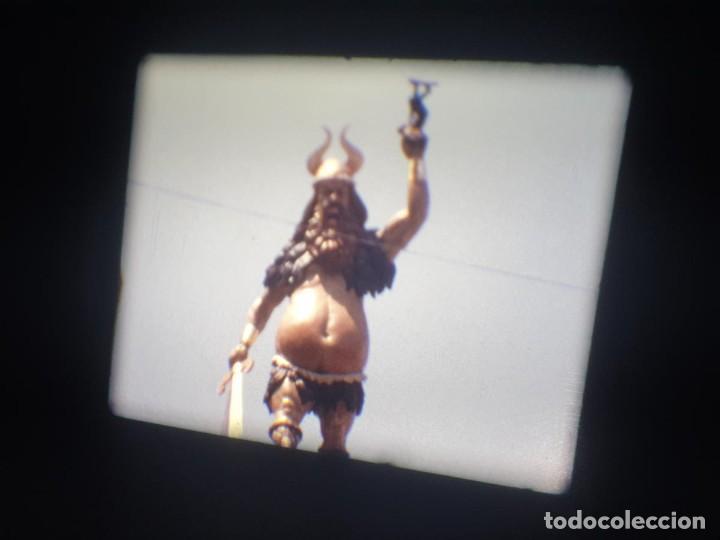 Cine: ANTIGUA BOBINA-DE PELÍCULA-FILMACIONES AMATEUR-FOGUERES-SANT JOAN (1973) SUPER 8 MM, RETRO FILM - Foto 146 - 212835668