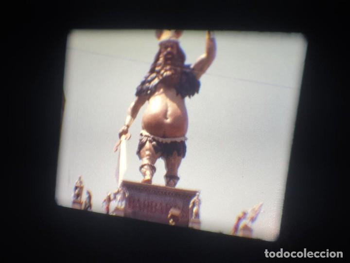 Cine: ANTIGUA BOBINA-DE PELÍCULA-FILMACIONES AMATEUR-FOGUERES-SANT JOAN (1973) SUPER 8 MM, RETRO FILM - Foto 147 - 212835668