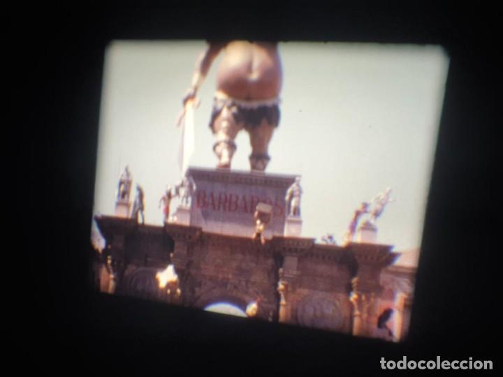 Cine: ANTIGUA BOBINA-DE PELÍCULA-FILMACIONES AMATEUR-FOGUERES-SANT JOAN (1973) SUPER 8 MM, RETRO FILM - Foto 148 - 212835668