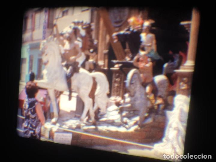Cine: ANTIGUA BOBINA-DE PELÍCULA-FILMACIONES AMATEUR-FOGUERES-SANT JOAN (1973) SUPER 8 MM, RETRO FILM - Foto 152 - 212835668