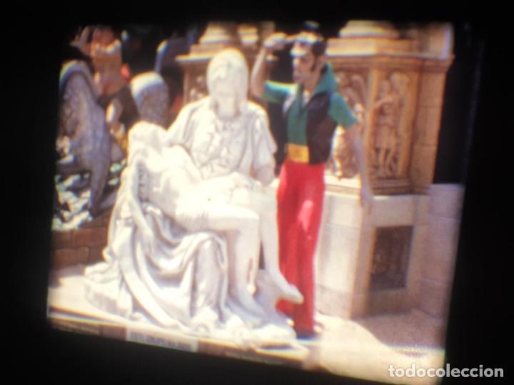 Cine: ANTIGUA BOBINA-DE PELÍCULA-FILMACIONES AMATEUR-FOGUERES-SANT JOAN (1973) SUPER 8 MM, RETRO FILM - Foto 153 - 212835668