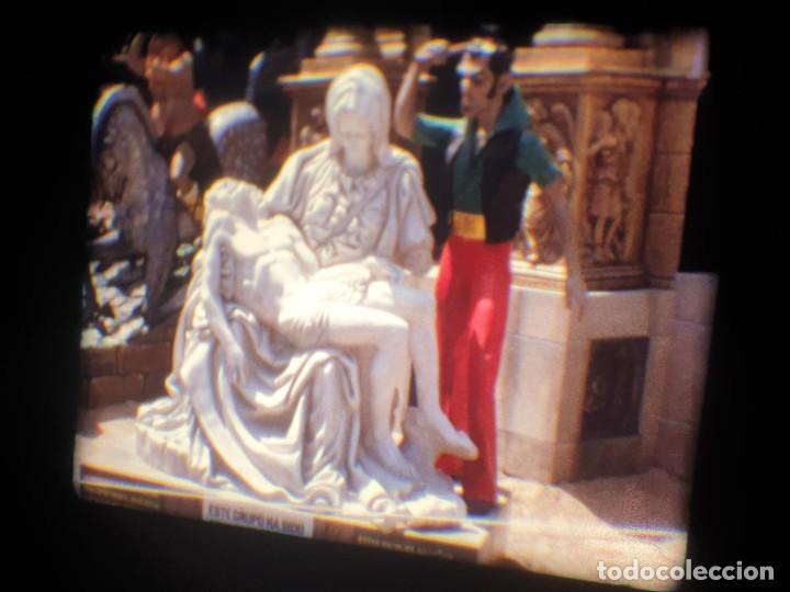 Cine: ANTIGUA BOBINA-DE PELÍCULA-FILMACIONES AMATEUR-FOGUERES-SANT JOAN (1973) SUPER 8 MM, RETRO FILM - Foto 154 - 212835668