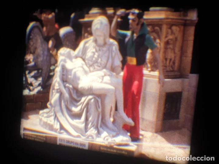 Cine: ANTIGUA BOBINA-DE PELÍCULA-FILMACIONES AMATEUR-FOGUERES-SANT JOAN (1973) SUPER 8 MM, RETRO FILM - Foto 155 - 212835668