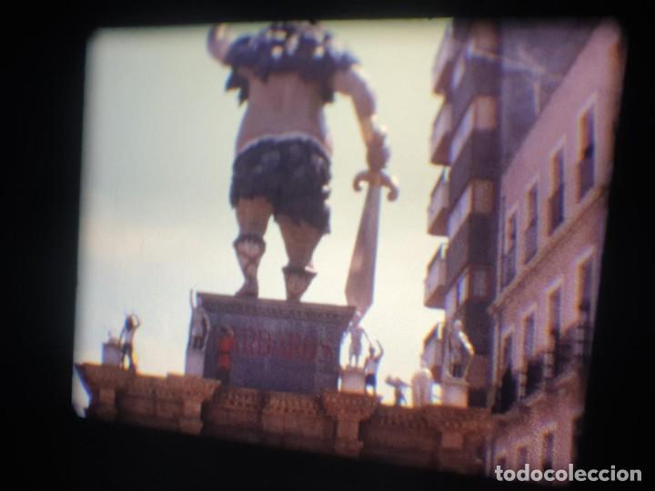 Cine: ANTIGUA BOBINA-DE PELÍCULA-FILMACIONES AMATEUR-FOGUERES-SANT JOAN (1973) SUPER 8 MM, RETRO FILM - Foto 157 - 212835668