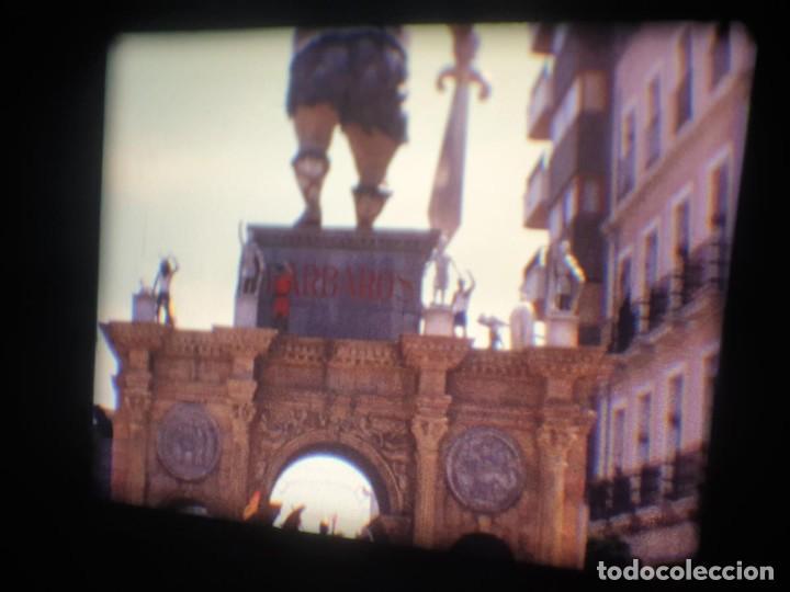 Cine: ANTIGUA BOBINA-DE PELÍCULA-FILMACIONES AMATEUR-FOGUERES-SANT JOAN (1973) SUPER 8 MM, RETRO FILM - Foto 158 - 212835668