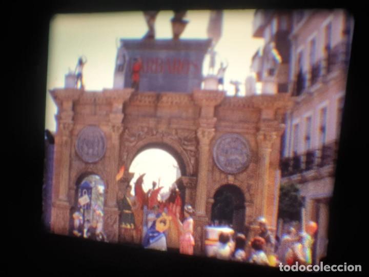 Cine: ANTIGUA BOBINA-DE PELÍCULA-FILMACIONES AMATEUR-FOGUERES-SANT JOAN (1973) SUPER 8 MM, RETRO FILM - Foto 159 - 212835668