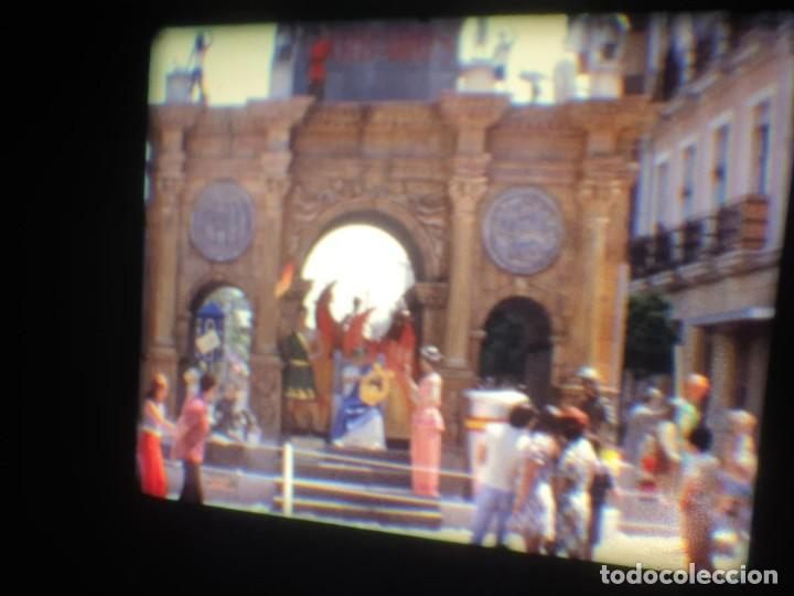 Cine: ANTIGUA BOBINA-DE PELÍCULA-FILMACIONES AMATEUR-FOGUERES-SANT JOAN (1973) SUPER 8 MM, RETRO FILM - Foto 161 - 212835668