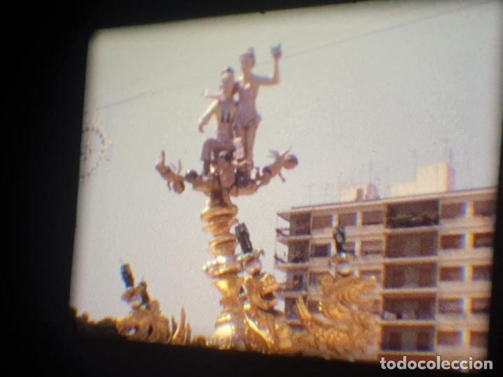 Cine: ANTIGUA BOBINA-DE PELÍCULA-FILMACIONES AMATEUR-FOGUERES-SANT JOAN (1973) SUPER 8 MM, RETRO FILM - Foto 169 - 212835668