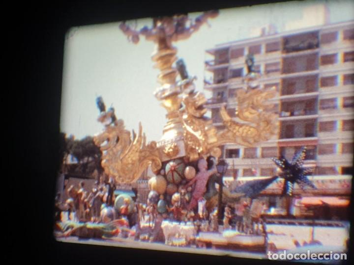Cine: ANTIGUA BOBINA-DE PELÍCULA-FILMACIONES AMATEUR-FOGUERES-SANT JOAN (1973) SUPER 8 MM, RETRO FILM - Foto 171 - 212835668