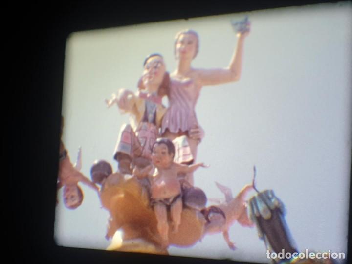 Cine: ANTIGUA BOBINA-DE PELÍCULA-FILMACIONES AMATEUR-FOGUERES-SANT JOAN (1973) SUPER 8 MM, RETRO FILM - Foto 173 - 212835668