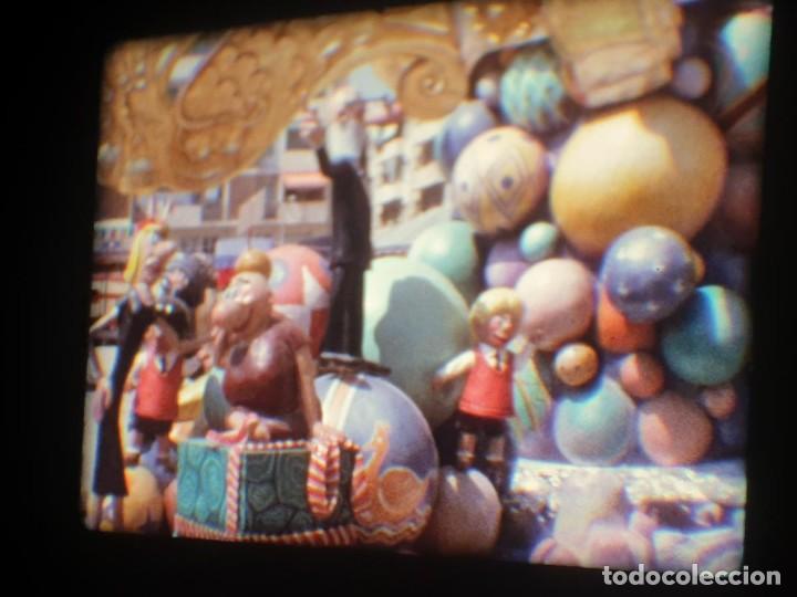 Cine: ANTIGUA BOBINA-DE PELÍCULA-FILMACIONES AMATEUR-FOGUERES-SANT JOAN (1973) SUPER 8 MM, RETRO FILM - Foto 177 - 212835668
