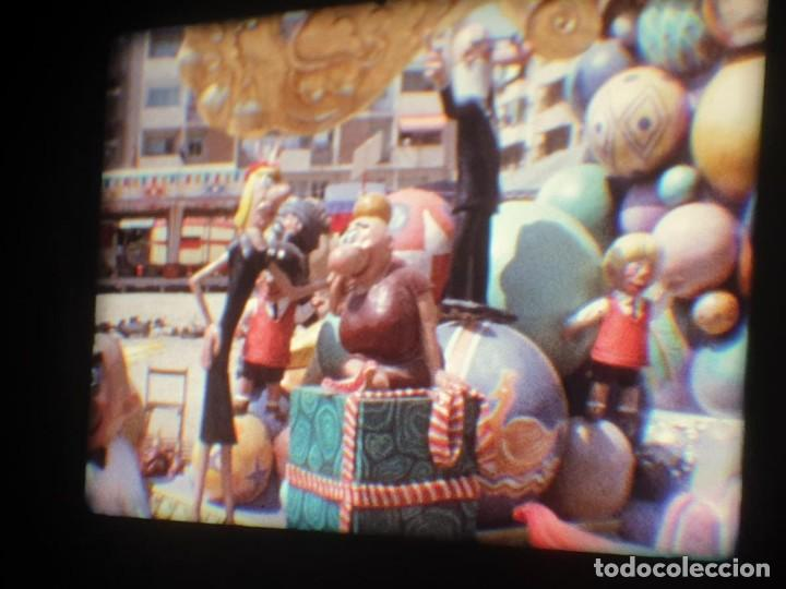 Cine: ANTIGUA BOBINA-DE PELÍCULA-FILMACIONES AMATEUR-FOGUERES-SANT JOAN (1973) SUPER 8 MM, RETRO FILM - Foto 178 - 212835668