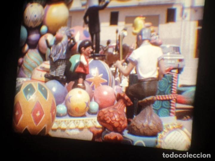 Cine: ANTIGUA BOBINA-DE PELÍCULA-FILMACIONES AMATEUR-FOGUERES-SANT JOAN (1973) SUPER 8 MM, RETRO FILM - Foto 180 - 212835668