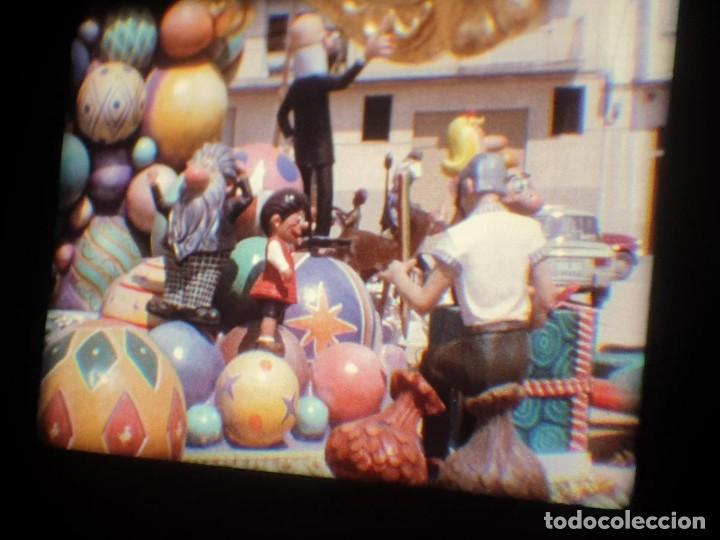 Cine: ANTIGUA BOBINA-DE PELÍCULA-FILMACIONES AMATEUR-FOGUERES-SANT JOAN (1973) SUPER 8 MM, RETRO FILM - Foto 181 - 212835668