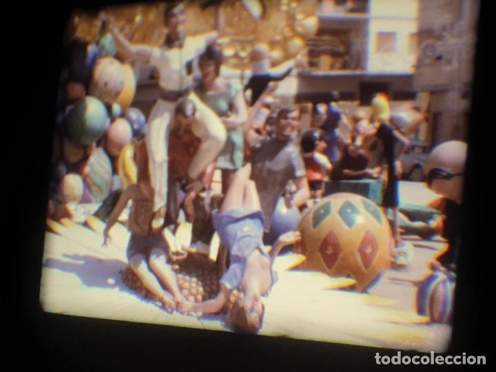 Cine: ANTIGUA BOBINA-DE PELÍCULA-FILMACIONES AMATEUR-FOGUERES-SANT JOAN (1973) SUPER 8 MM, RETRO FILM - Foto 182 - 212835668