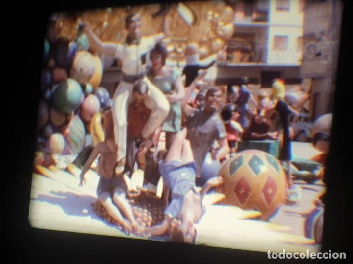 Cine: ANTIGUA BOBINA-DE PELÍCULA-FILMACIONES AMATEUR-FOGUERES-SANT JOAN (1973) SUPER 8 MM, RETRO FILM - Foto 184 - 212835668
