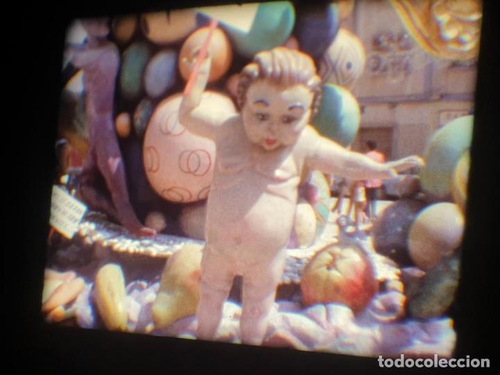 Cine: ANTIGUA BOBINA-DE PELÍCULA-FILMACIONES AMATEUR-FOGUERES-SANT JOAN (1973) SUPER 8 MM, RETRO FILM - Foto 185 - 212835668