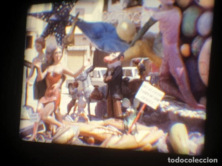 Cine: ANTIGUA BOBINA-DE PELÍCULA-FILMACIONES AMATEUR-FOGUERES-SANT JOAN (1973) SUPER 8 MM, RETRO FILM - Foto 189 - 212835668