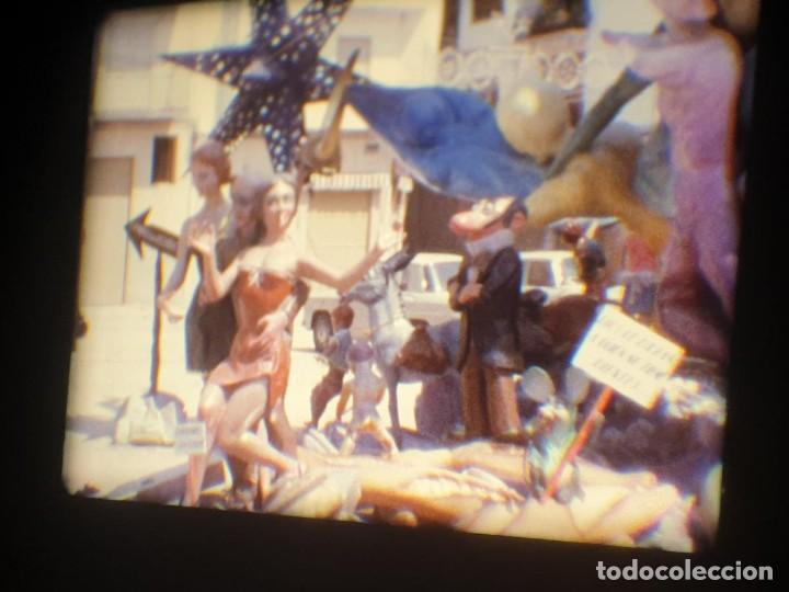 Cine: ANTIGUA BOBINA-DE PELÍCULA-FILMACIONES AMATEUR-FOGUERES-SANT JOAN (1973) SUPER 8 MM, RETRO FILM - Foto 190 - 212835668