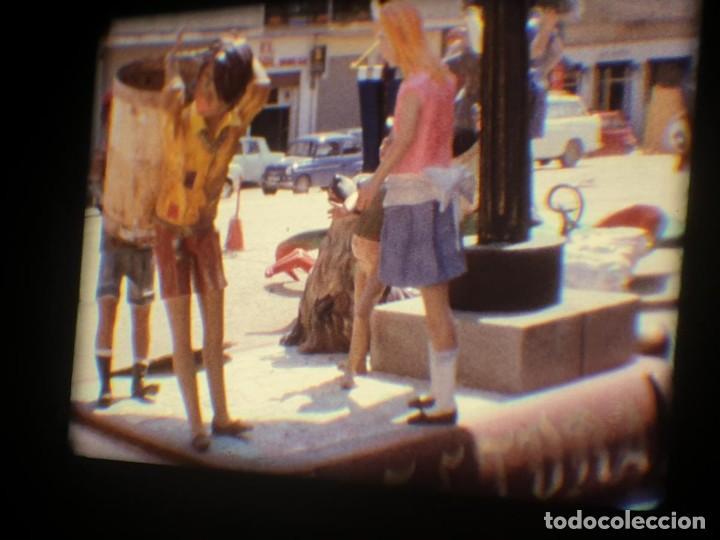 Cine: ANTIGUA BOBINA-DE PELÍCULA-FILMACIONES AMATEUR-FOGUERES-SANT JOAN (1973) SUPER 8 MM, RETRO FILM - Foto 195 - 212835668