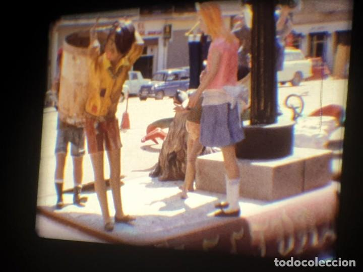 Cine: ANTIGUA BOBINA-DE PELÍCULA-FILMACIONES AMATEUR-FOGUERES-SANT JOAN (1973) SUPER 8 MM, RETRO FILM - Foto 196 - 212835668