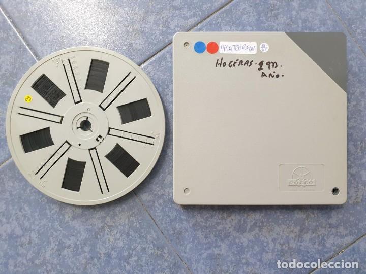 Cine: ANTIGUA BOBINA-DE PELÍCULA-FILMACIONES AMATEUR-FOGUERES-SANT JOAN (1973) SUPER 8 MM, RETRO FILM - Foto 216 - 212835668