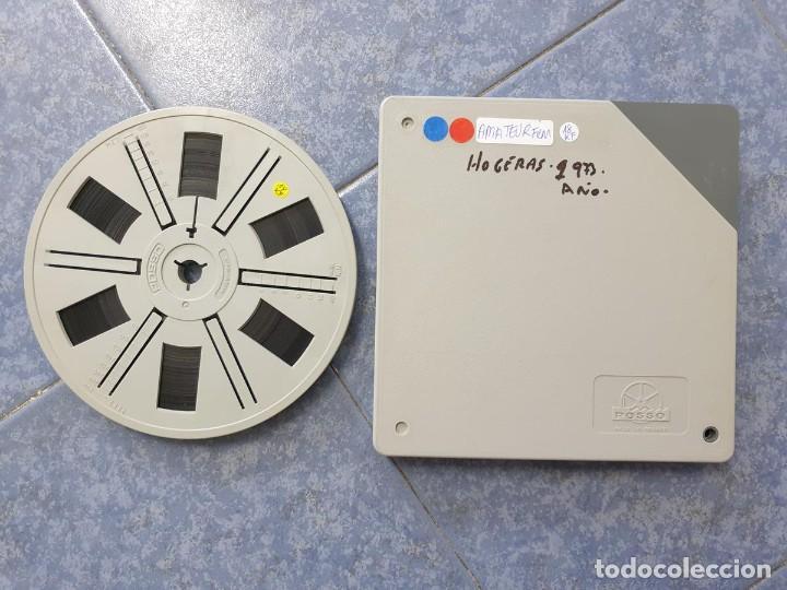 Cine: ANTIGUA BOBINA-DE PELÍCULA-FILMACIONES AMATEUR-FOGUERES-SANT JOAN (1973) SUPER 8 MM, RETRO FILM - Foto 223 - 212835668
