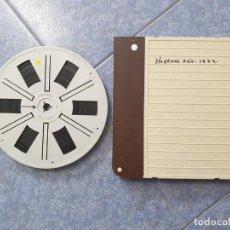 Cinema: ANTIGUA BOBINA DE PELÍCULA-FILMACIONES AMATEUR-FOGUERES-SANT JOAN (1979)-SUPER 8 MM, RETRO FILM. Lote 212836070