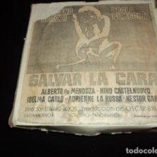 Cine: SALVAR LA CARA LARGOMETRAJE PELICULA SUPER 8 MM. Lote 212899731