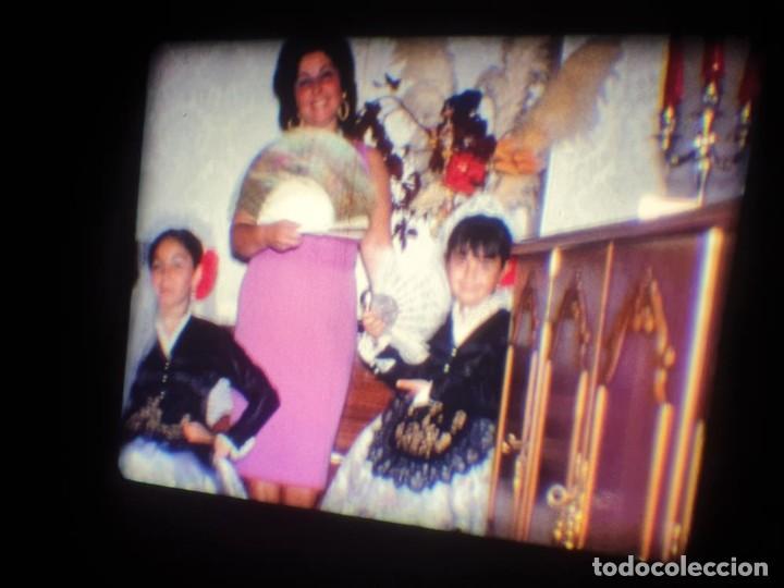 Cine: ANTIGUA BOBINA DE PELÍCULA-FILMACIONES AMATEUR-FOGUERES-SANT JOAN (1971) SUPER 8 MM, RETRO FILM - Foto 4 - 213359967