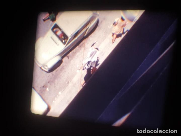 Cine: ANTIGUA BOBINA DE PELÍCULA-FILMACIONES AMATEUR-FOGUERES-SANT JOAN (1971) SUPER 8 MM, RETRO FILM - Foto 5 - 213359967