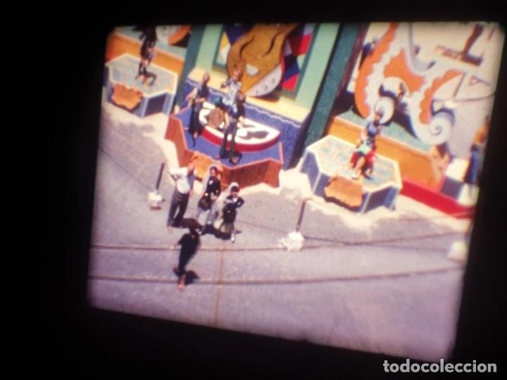 Cine: ANTIGUA BOBINA DE PELÍCULA-FILMACIONES AMATEUR-FOGUERES-SANT JOAN (1971) SUPER 8 MM, RETRO FILM - Foto 6 - 213359967