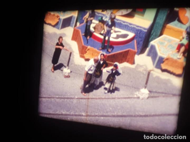 Cine: ANTIGUA BOBINA DE PELÍCULA-FILMACIONES AMATEUR-FOGUERES-SANT JOAN (1971) SUPER 8 MM, RETRO FILM - Foto 7 - 213359967