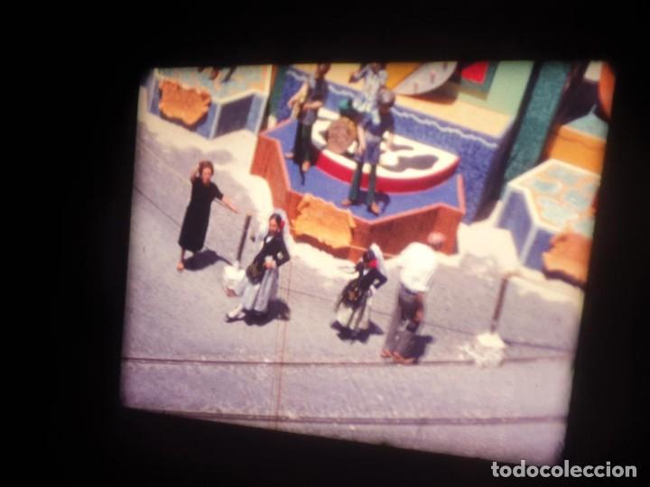 Cine: ANTIGUA BOBINA DE PELÍCULA-FILMACIONES AMATEUR-FOGUERES-SANT JOAN (1971) SUPER 8 MM, RETRO FILM - Foto 8 - 213359967