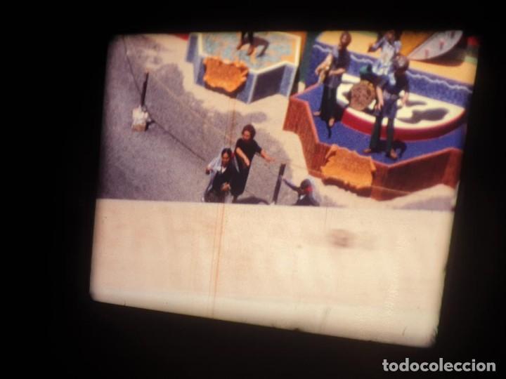 Cine: ANTIGUA BOBINA DE PELÍCULA-FILMACIONES AMATEUR-FOGUERES-SANT JOAN (1971) SUPER 8 MM, RETRO FILM - Foto 9 - 213359967