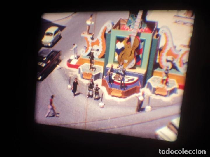 Cine: ANTIGUA BOBINA DE PELÍCULA-FILMACIONES AMATEUR-FOGUERES-SANT JOAN (1971) SUPER 8 MM, RETRO FILM - Foto 10 - 213359967