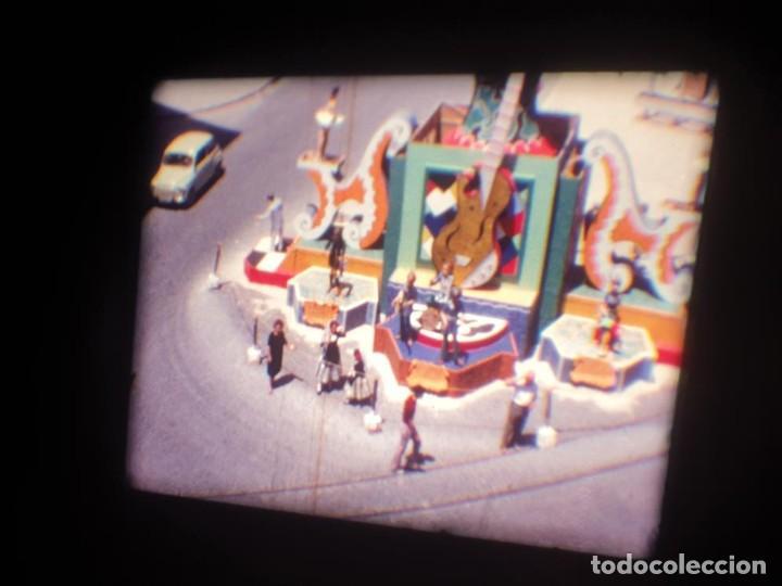 Cine: ANTIGUA BOBINA DE PELÍCULA-FILMACIONES AMATEUR-FOGUERES-SANT JOAN (1971) SUPER 8 MM, RETRO FILM - Foto 12 - 213359967