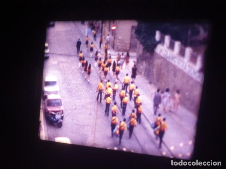 Cine: ANTIGUA BOBINA DE PELÍCULA-FILMACIONES AMATEUR-FOGUERES-SANT JOAN (1971) SUPER 8 MM, RETRO FILM - Foto 13 - 213359967